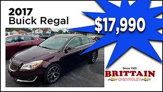 Buick Regal, Brittain Chevrolet, MyValleyCars