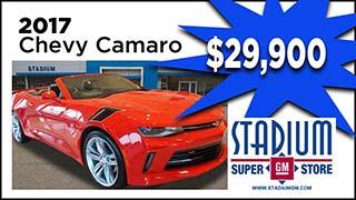 Chevy Camaro, Stadium GM, MyValleyCars