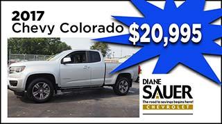 Chevy Colorado, Diane Sauer Chevrolet, MyValleyCars