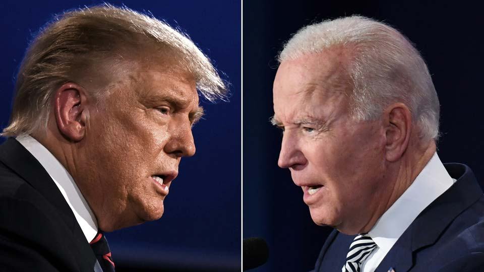 Donald Trump, Joe Biden, Presidential Debate