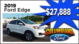 Ford Edge, Columbiana Ford, MyValleyCars