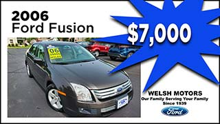 Ford Fusion, Welsh Motors, MyValleyCars