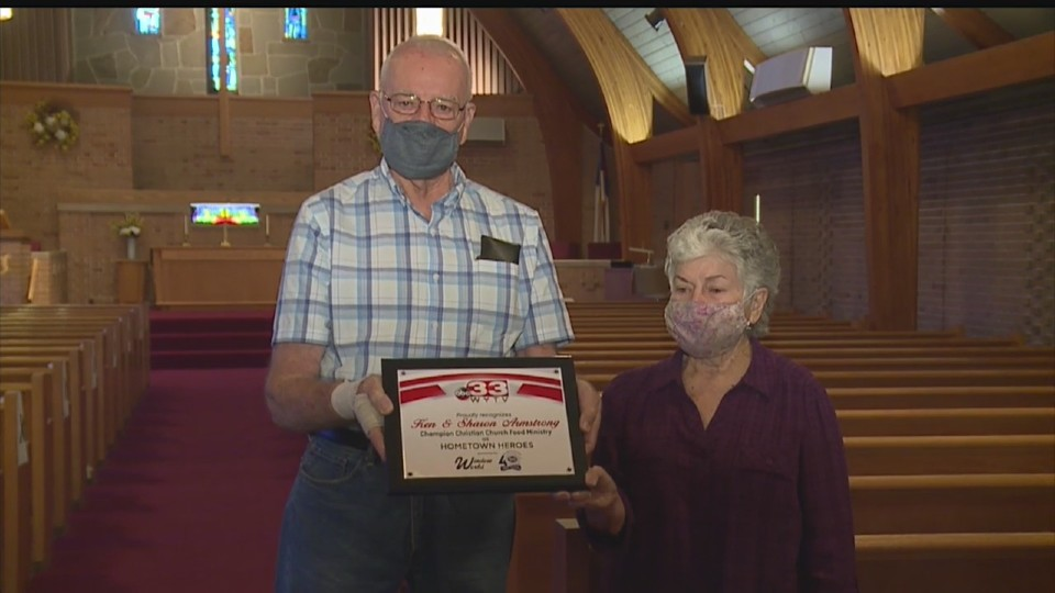 Ken and Sharon Armstrong, Hometown Heroes