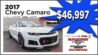 2017 Chevy Camaro, Kufleitner Columbiana, MyValleyCars