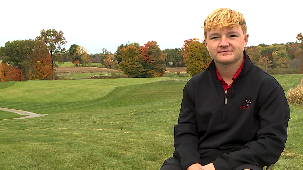 The Columbiana senior is an All Ohio golfer and 4-time District qualifier, with a 3.8 GPA