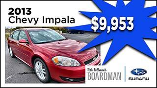 Chevy Impala, Boardman Subaru, MyValleyCars