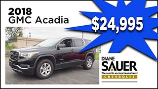 GMC Acadia, Diane Sauer Chevrolet, MyValleyCars