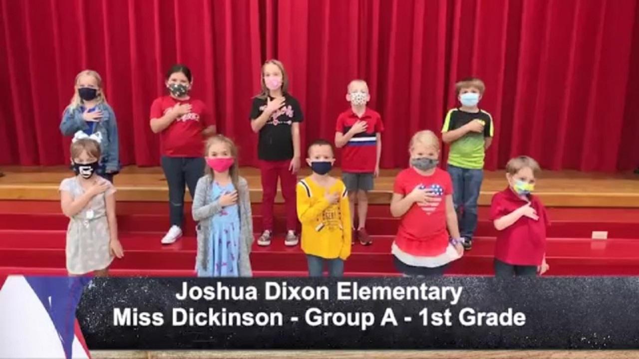 Joshua Dixon Elementary - Miss Dickinson - 1st Grade - A