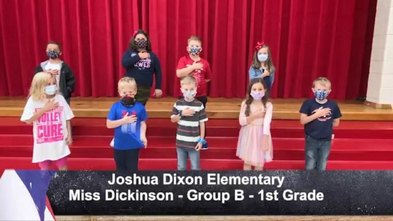 Joshua Dixon Elementary - Miss Dickinson - 1st Grade - B