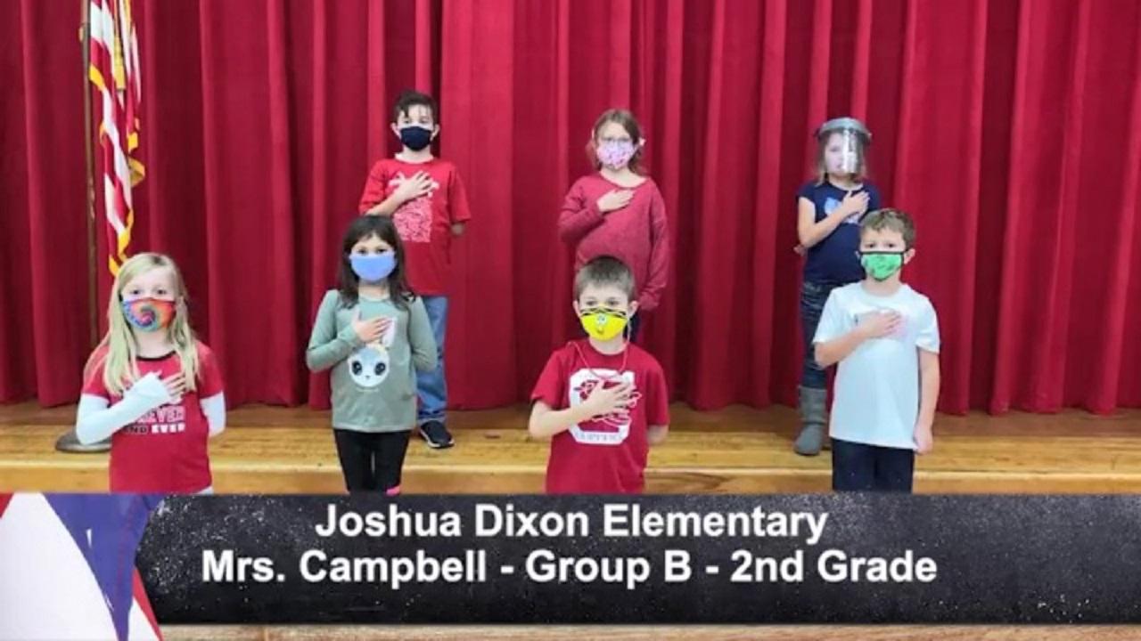 Joshua Dixon Elementary - Mrs. Campbell - 2nd Grade - B