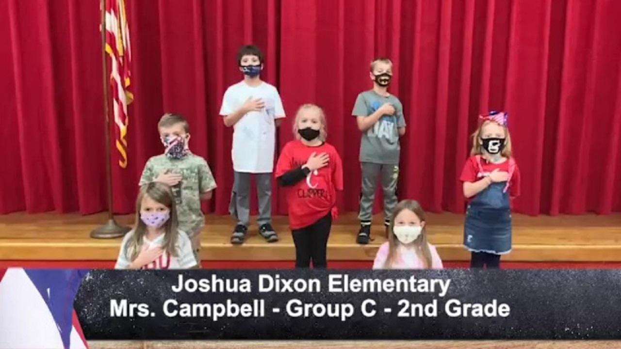 Joshua Dixon Elementary - Mrs. Campbell - 2nd Grade - C