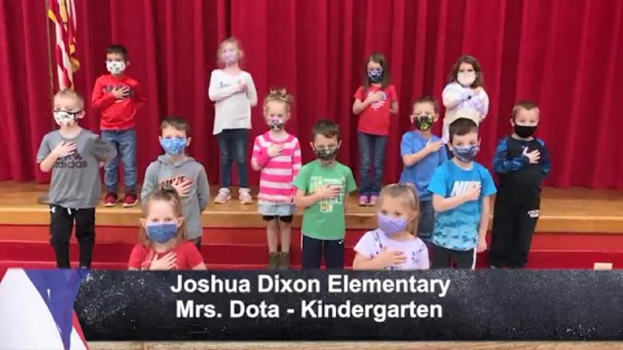Joshua Dixon Elementary - Mrs. Dota - Kindergarten