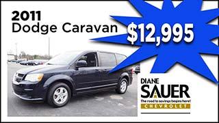 2011 Dodge Caravan, Diane Sauer Chevrolet, MyValleyCars