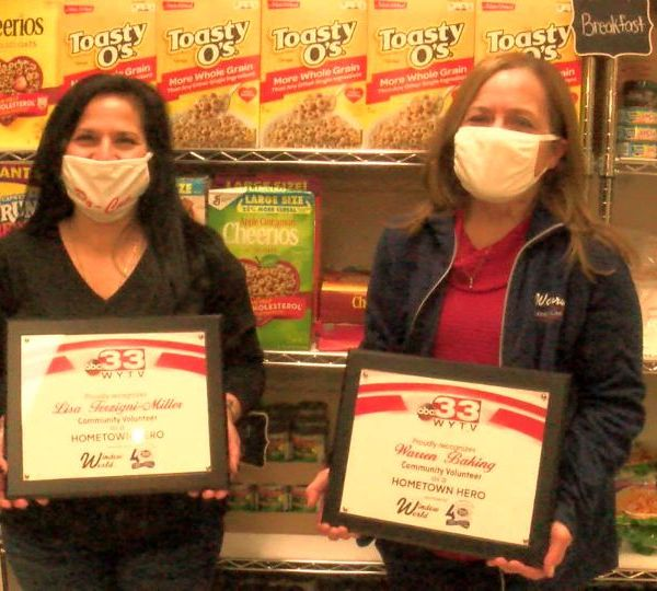 Patty Abbey and Lisa Miller are Hometown Heroes.