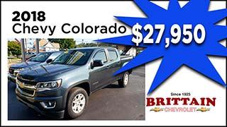 Chevy Colorado, Brittain Chevrolet, MyValleyCars