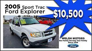 Ford Explorer Sport Trac, Welsh Motors,MyValleyCars