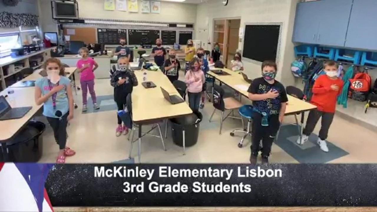 McKinley Elementary Lisbon - 3rd Grade Students