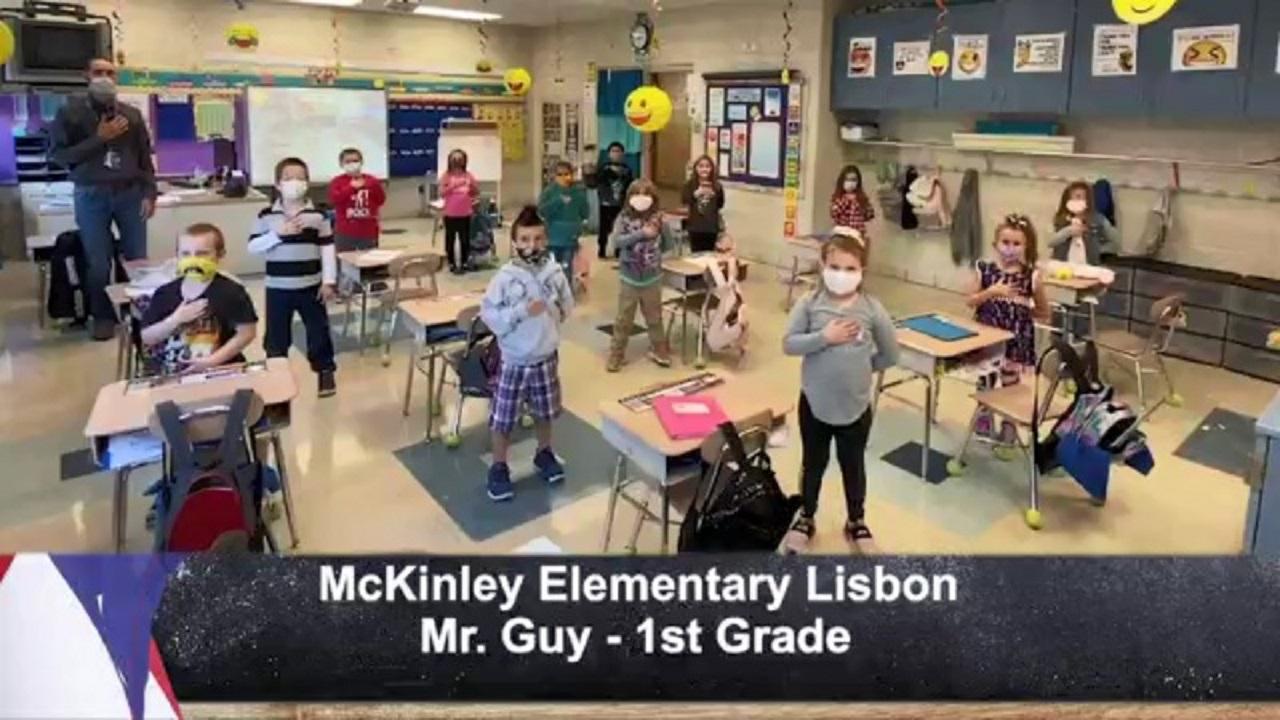 McKinley Elementary Lisbon - Mr. Guy - 1st Grade