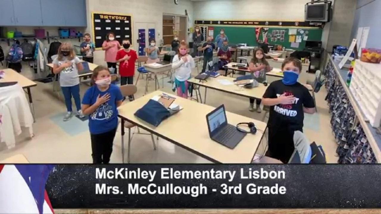McKinley Elementary Lisbon - Mrs. McCullough - 3rd Grade