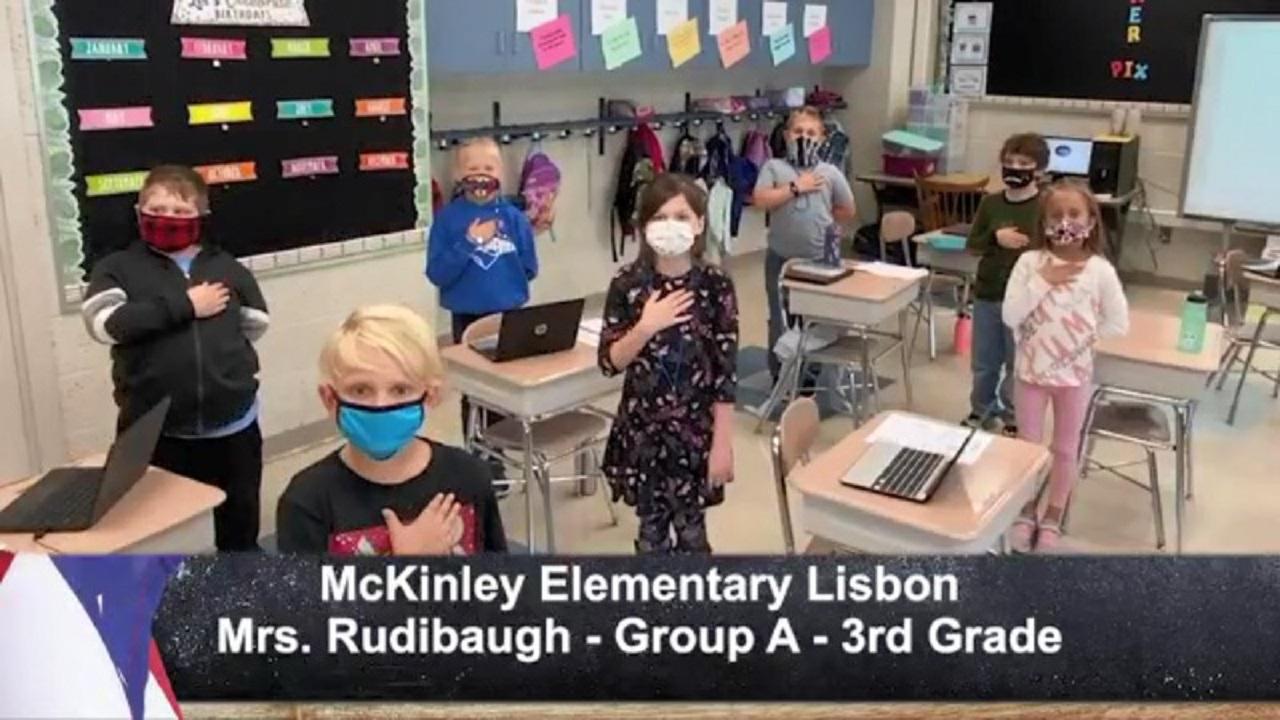 McKinley Elementary Lisbon - Mrs. Rudibaugh - Group A - 3rd Grade