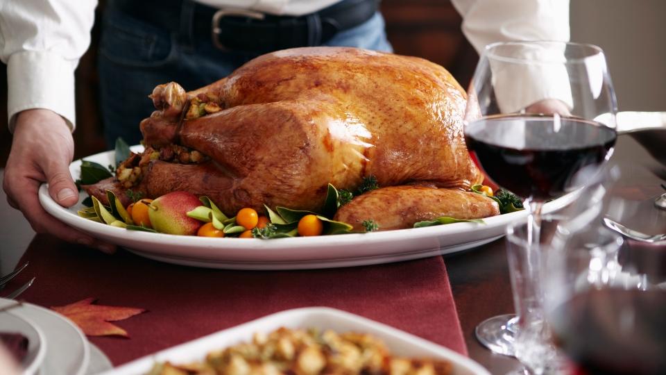 Thanksgiving dinner, turkey