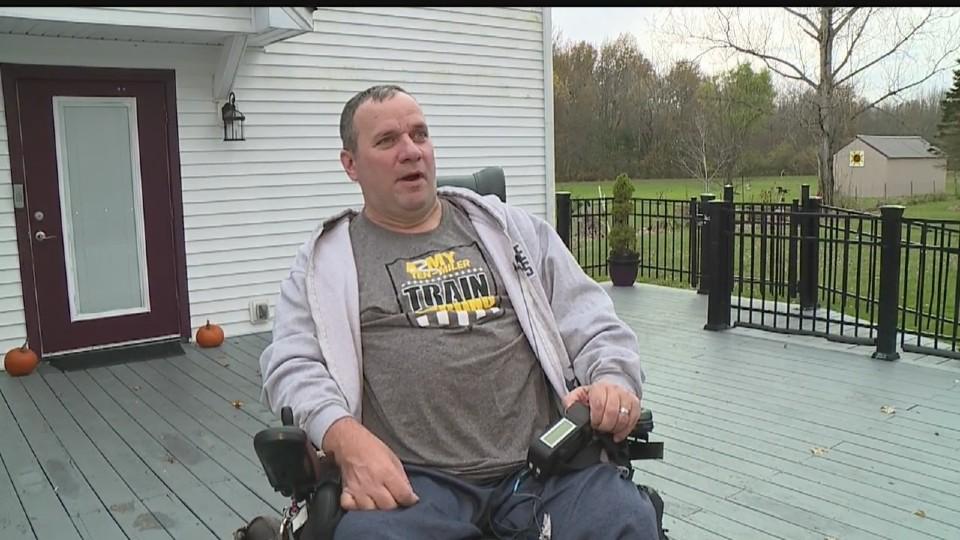 Veteran Brett Clingan