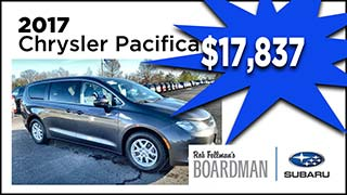 2017 Chrysler Pacifica, Boardman Subaru, MyValleyCars