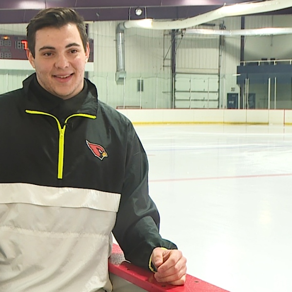 The Canfield senior is a hockey and lacrosse standout, recently nominated to West Point, with a 3.97 GPA