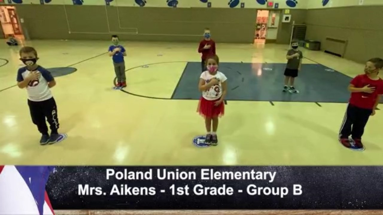 Poland Union - Mrs. Aikens - 1st Grade - Group B