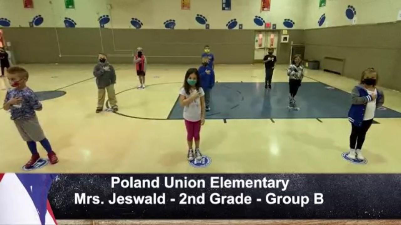 Poland Union - Mrs. Jeswald - 2nd Grade - Group B
