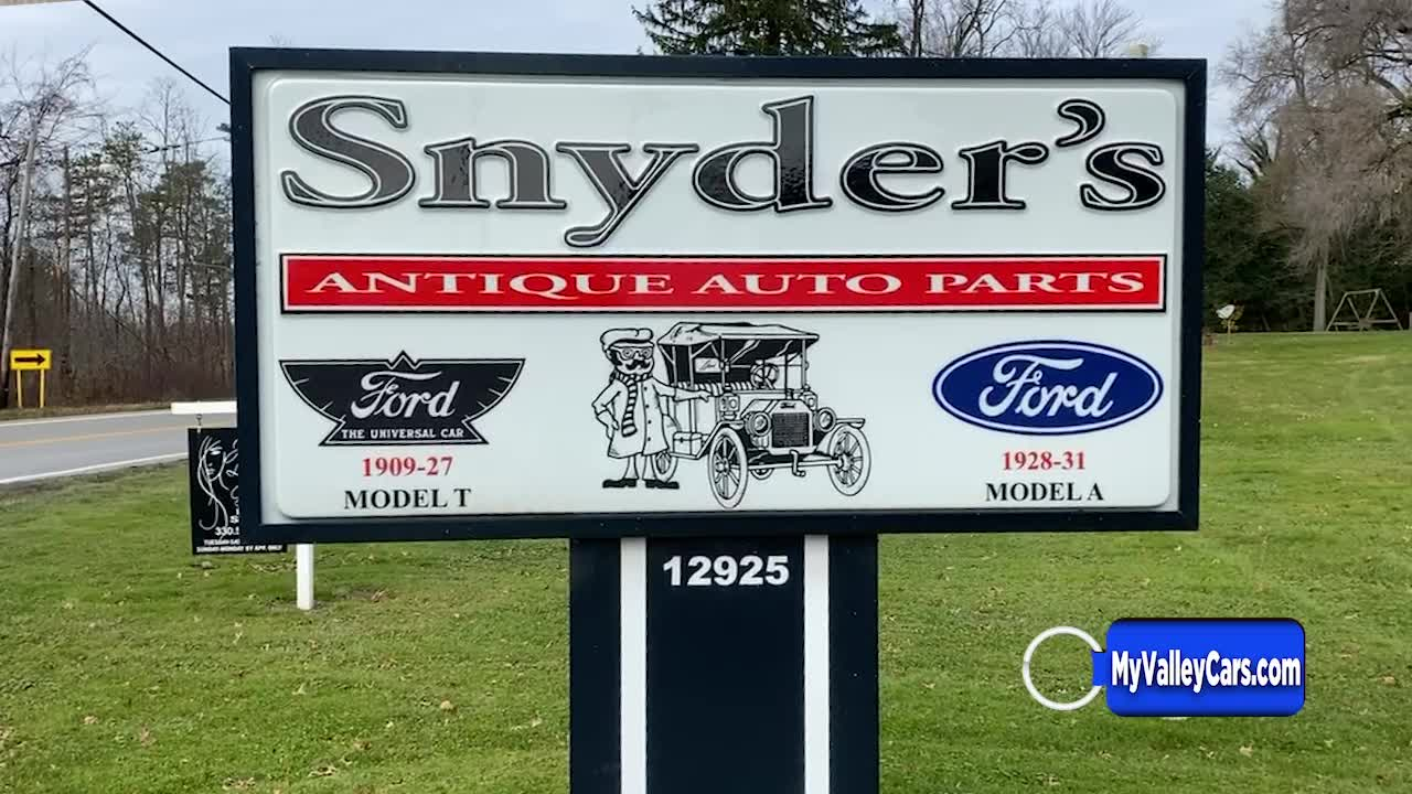 Snyder's Antique Auto Parts
