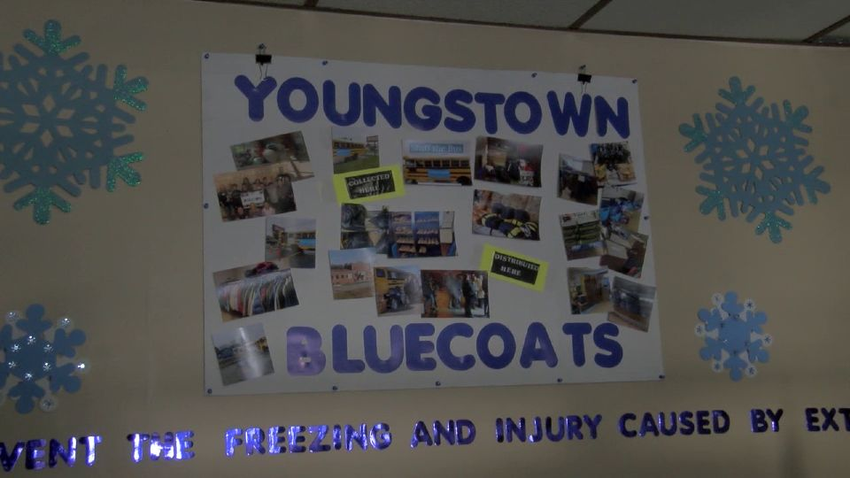 ou might see a bus traveling around the Valley or a collection bin marked Youngstown Blue Coats. It all goes back to an effort started with Patty Summers.