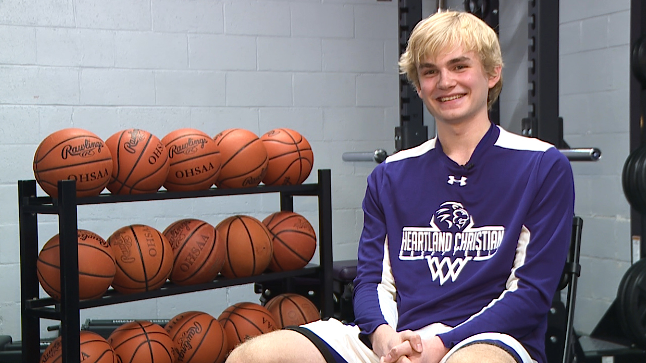 The Heartland Christian senior is an All-County basketball player and one of the Lions' leaders on and off the court, with a 3.7 GPA
