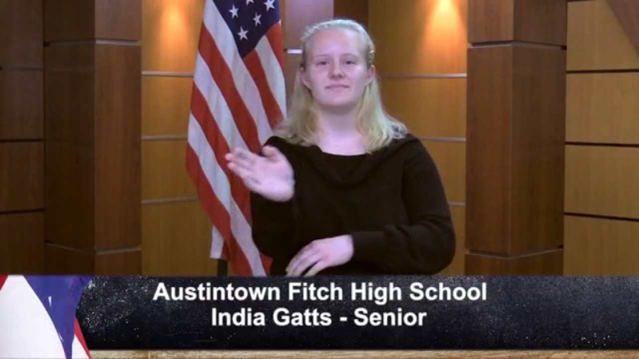 Austintown Fitch - India Gatts - Senior