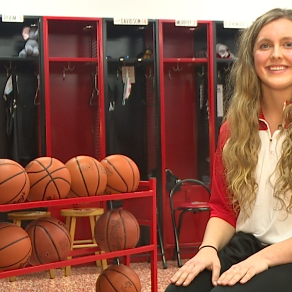 The Salem senior is an All Conference performer in basketball and track and field, plus leads her class with a 4.0 GPA