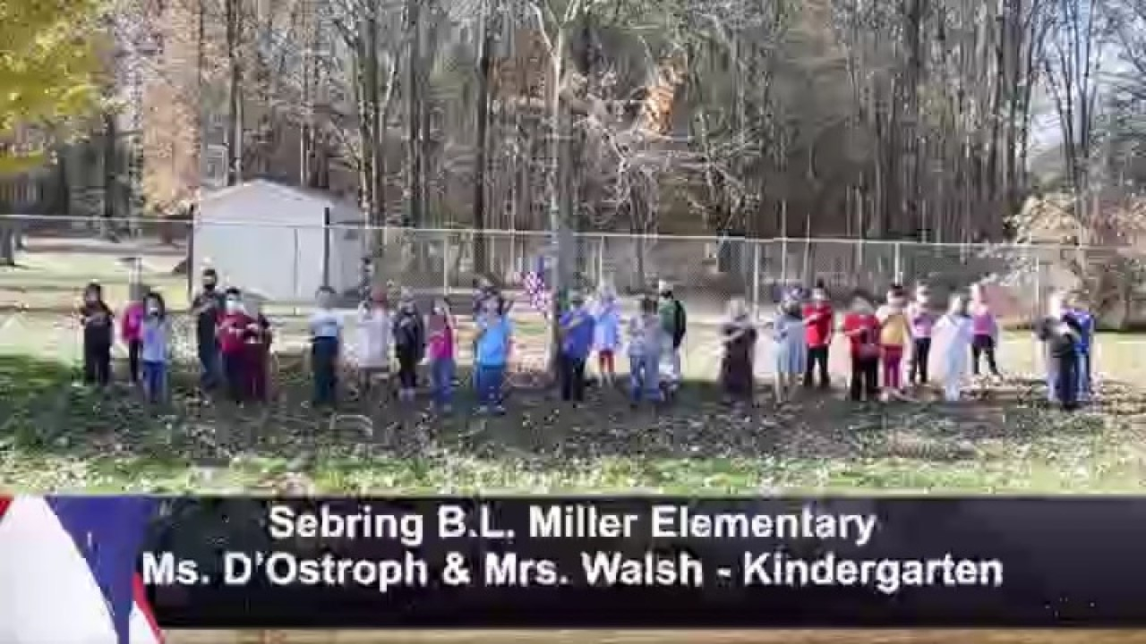 Sebring B.L. Miller - Mrs. DOstroph and Walsh - Kindergarten