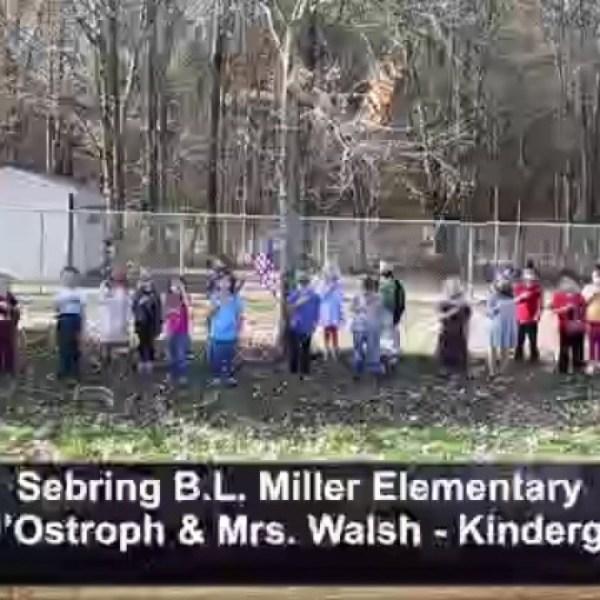 Sebring B.L. Miller - Mrs. DOstroph and Walsh - Kindergarten
