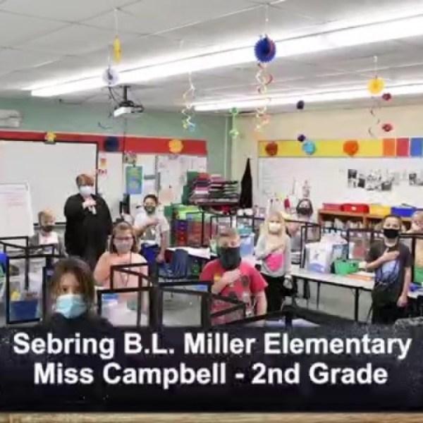 Sebring B.L. Miller - Miss Campbell - 2nd Grade