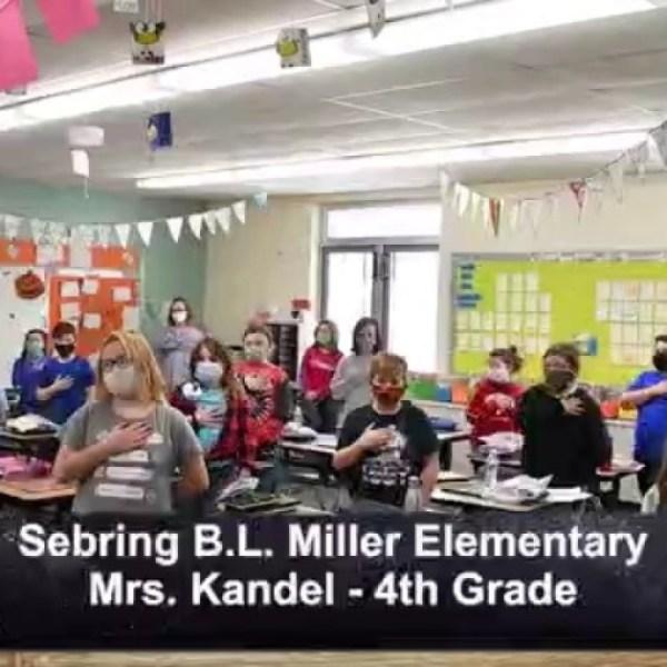 Sebring B.L. Miller - Mrs. Kandel - 4th Grade