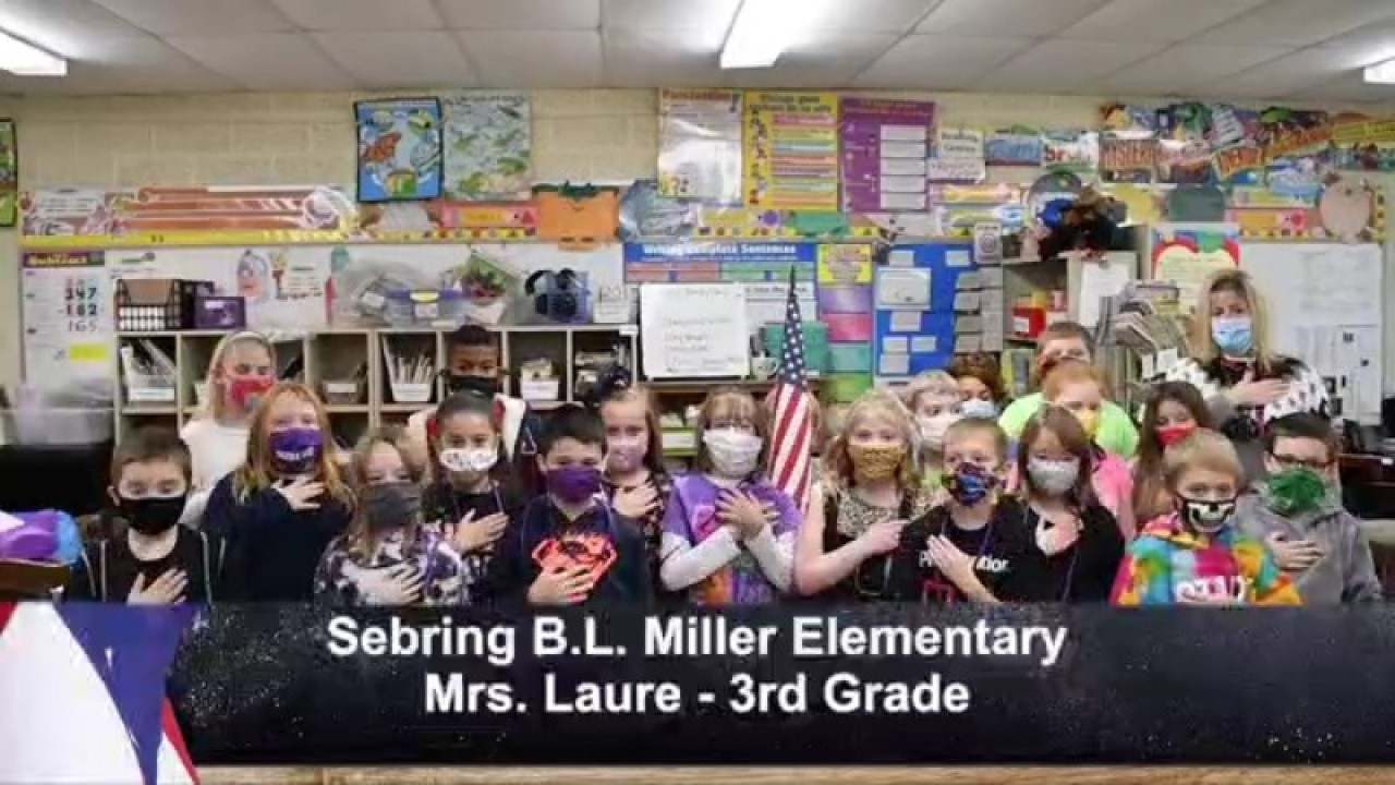 Sebring B.L. Miller - Mrs. Laure - 3rd Grade