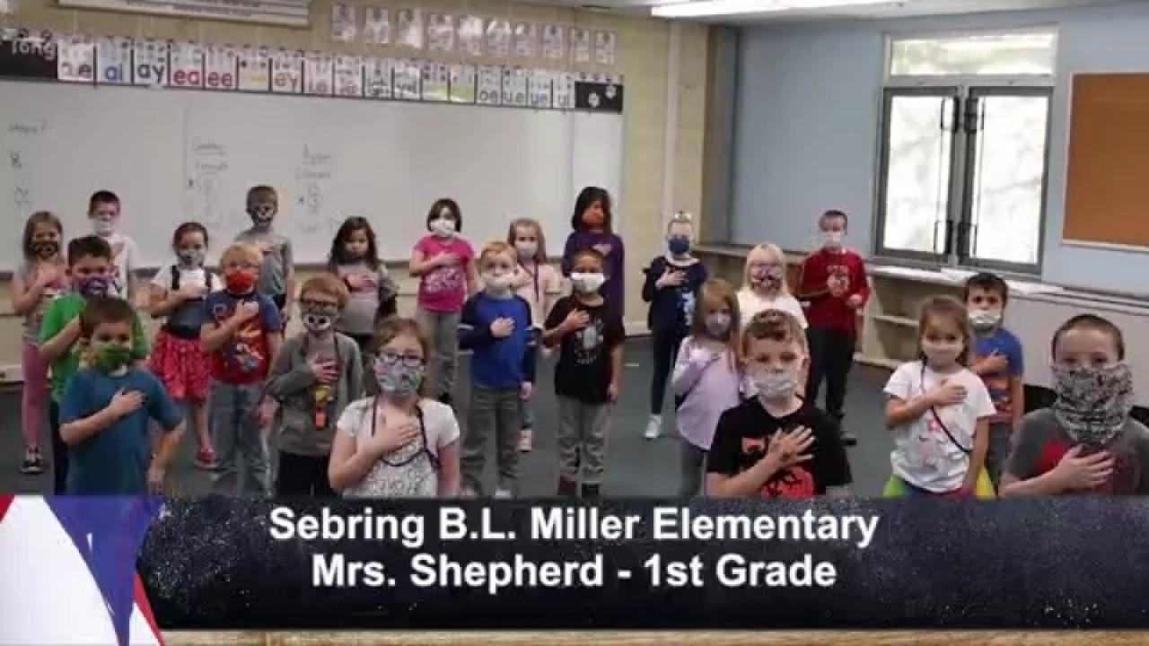 Sebring B.L. Miller - Mrs. Shepherd - 1st Grade
