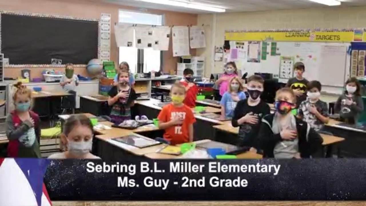 Sebring B.L. Miller - Ms. Guy - 2nd Grade