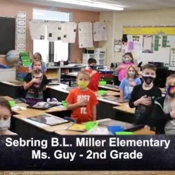 Sebring B.L. Miller - Ms. Guy - 2nd Grade