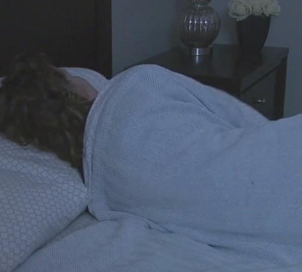 Sleeping, bed