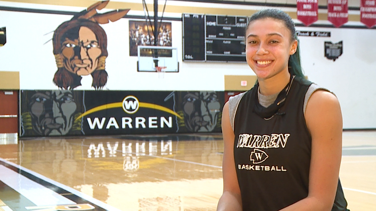 The Warren Harding senior is an All State basketball player averaging a double-double, with a 4.0 GPA
