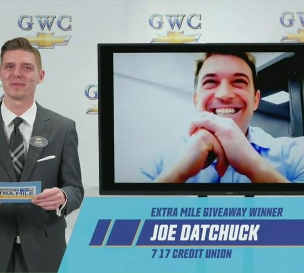 Joe Datchuck, Extra Mile winner