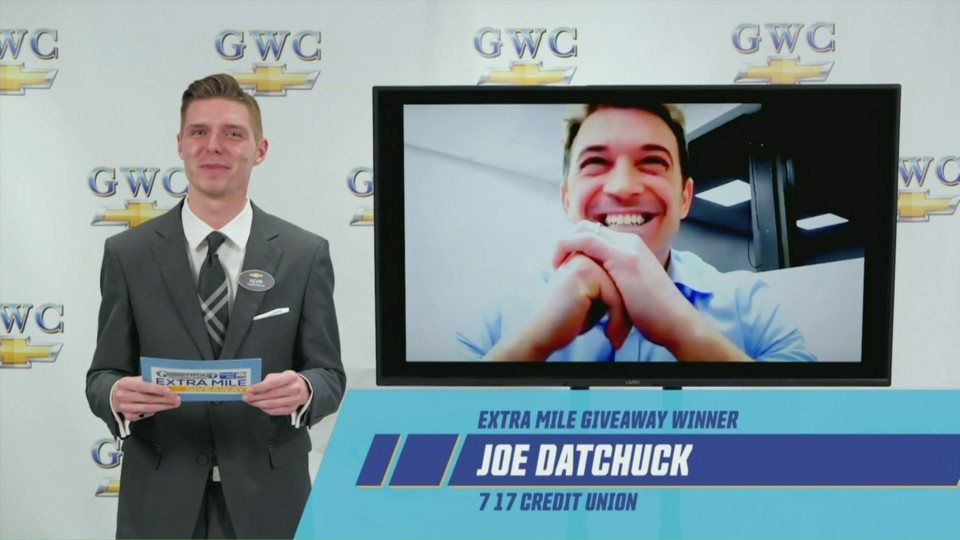 Joe Datchuck, Extra Mile winner