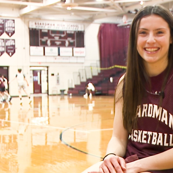 Spartans' senior Raegan Burkey is on track to graduate with 14 varsity letters, plus leads her class with a 4.0 GPA