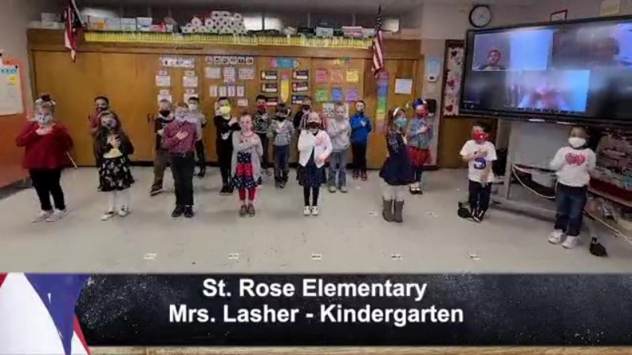 St. Rose Elementary - Mrs. Lasher - Kindergarten