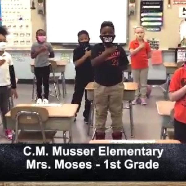 C.M. Musser Elementary - Mrs. Moses - 1st Grade